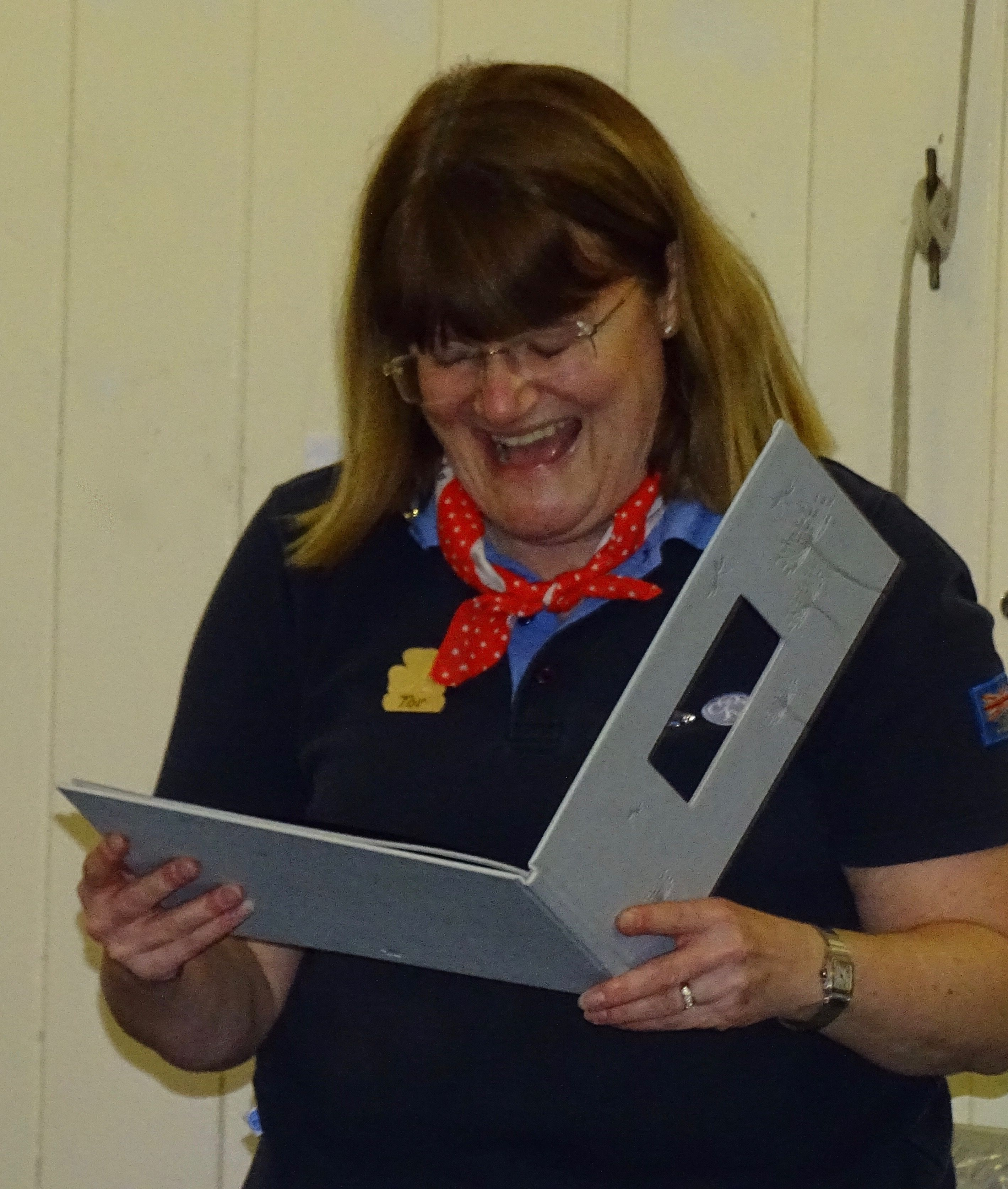 Thanks to our outgoing County Commissioner