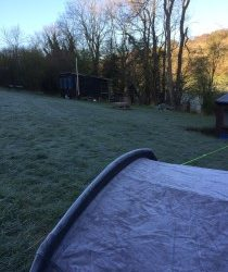 Camp of ice and sun!